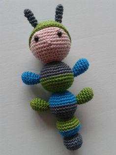 Amigurumi Baby Haakpatroon : ~ Crochet Baby Rattle ~ on Pinterest Baby Rattle ...