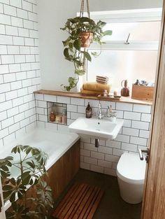 New Apartment Bathroom Colors Small Baths 65 Ideas Bathroom Colors, Bathroom Ideas, Bathroom Small, Bathroom Bath, Bath Tiles, Brown Bathroom, Room Tiles, Wood Bathroom, Budget Bathroom