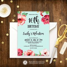 Most Popular Surprise Birthday Party Dcoration Ideas Surprise Party Decorations, Surprise Birthday Invitations, Sweet 16 Invitations, Printable Birthday Invitations, Invites, Decoration Party, Invitation Templates, Invitation Cards, Wedding Invitations