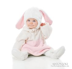 Little Bunny Hat - Taikalinna Bunny Outfit, Bunny Hat, Children Clothes, Fairy Tales, Kids Outfits, Photoshoot, Hats, Clothing, Design