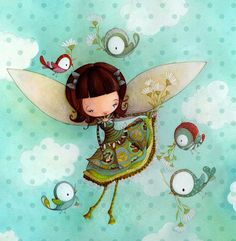 La fée Faf Ketto's Faf fairy by Ketto Design, via Flickr