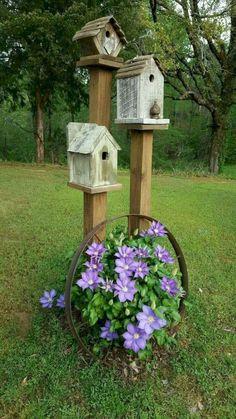 56 Awesome Side Yard Garden Design Landscaping Ideas - Best Home Design Ideas Garden Yard Ideas, Diy Garden Decor, Lawn And Garden, Garden Projects, Backyard Ideas, Garden Beds, Planter Garden, Patio Ideas, Garden Art