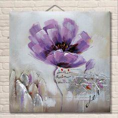 tableau abstrait fleur zeitgenossisch peinture acrylique sur toile image art art ebay akvarel roze in 2018 pinterest painting art and flower art