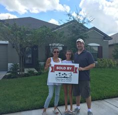 New Construction Home Sold to Past Clients/Friends!
