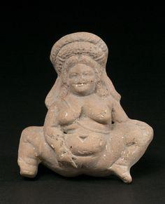 Female fertility figure, Asia Minor, 350-300 BC.