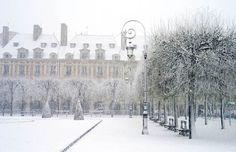 Paris, in the heart of the marais at the place des vosges