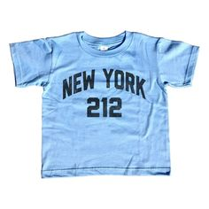 Girl's New York City 212 Area Code T-Shirt - Unisex Fit