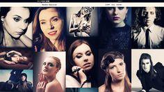 Projekt strony www z portfolio dla profesjonalnej makijażystki i wizażystki Karoliny Kałyszewskiej - http://atelierum.pl