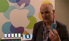 10 September, 2013 :  Apple unveils new iPhone 5c, iPhone 5s smartphones.   Charles Arthur iPhone 5 video.   www.netkaup.is