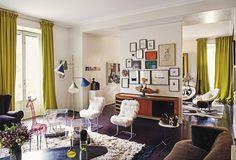 Журнал: дом дизайнера Консуэло Кастильони - Home - Интерьер   Vogue Ukraine