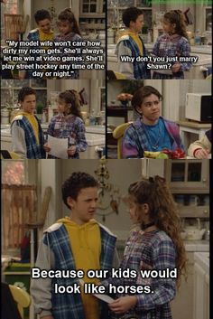 Boy Meets World <3 literally laughing out loud!