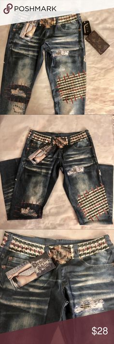 🆕! Denim Skin Jeggings Brand 🆕! Denim Skin Jeggings  Made in USA 🇺🇸  Size: Medium Petite (runs small) Denim Skin Pants Leggings