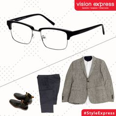 Match these club master styled frames with your corporate casuals for those Monday meetings.  Model -VX GV JULIUS JUL16 C03.52