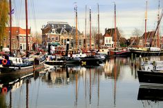 theearthinimages:    Enkhuizen, Netherlands. By CANAYDIN