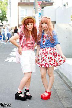 Harajuku Girls in Cute Fashion