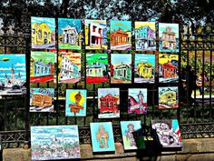 Jackson Square, New Orleans Colorful Art is Very Common Spring Time, Many Tourist in Town… People who own a French Quarter […] New Orleans French Quarter, Jackson Square, Photo Walk, Local Artists, Historic Homes, How To Take Photos, Spring Time, The Neighbourhood, Square Art