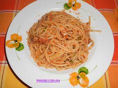 Le Delizie di Fiorellina84: Spaghetti con le sarde sott'olio