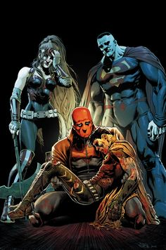 RED HOOD AND THE OUTLAWS #10 Written by SCOTT LOBDELL • Art by DEXTER SOY • Cover by NICOLA SCOTT • Variant cover by GUILLEM MARCH