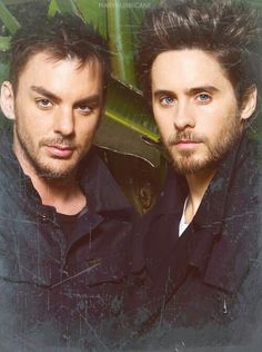 Shannon and Jared Leto