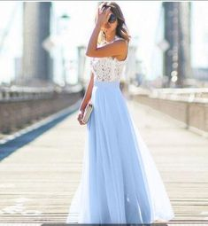 Women Formal Wedding Long Evening Party Ball Prom Gown Sundress Beach  Dresses 2e2ccf789512