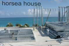 Light Steel Structure Villa Construction Process: Base,Wall,Roof,Floor,C type steel Flat Pack Homes, Low Cost Housing, Self Build Houses, Steel Frame House, Community Housing, Roof Trusses, Construction Process, Steel Structure, Kit Homes