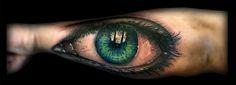 #tattoo #tatuaje #real #realismo #realistic #realista #retrato #portrait #eye #ojo #awesome #color