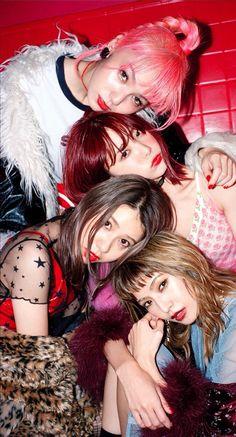 Japanese Girl Band, Beautiful Japanese Girl, Japanese Female, Scandal Japanese Band, Mami Sasazaki, Female Drummer, Pop Punk Bands, Band Wallpapers, Women Of Rock