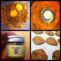 Sweet Potato Chocolate Chip Cookies | Cocinando con Alena