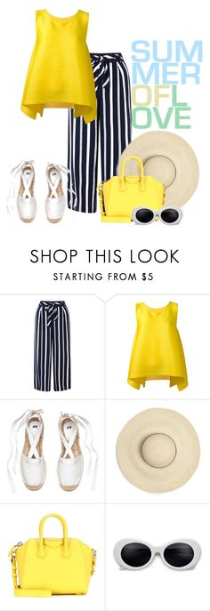 """""""summer of love"""" by barones-tania ❤ liked on Polyvore featuring Monsoon, Pleats Please by Issey Miyake and Givenchy"""
