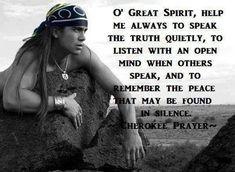 Native American Prayers, Native American Spirituality, Native American Cherokee, Native American Images, Native American Wisdom, Native American Beauty, Native American History, American Indians, American Symbols