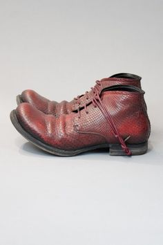 red python shoes - LAYER-0 - Layers London