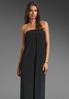 TIBI Mila Silk Jumpsuit in Black/Plum Multi at Revolve Clothing - Free Shipping!