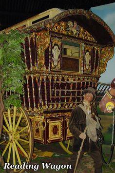 Beautiful Gypsy Reading wagon
