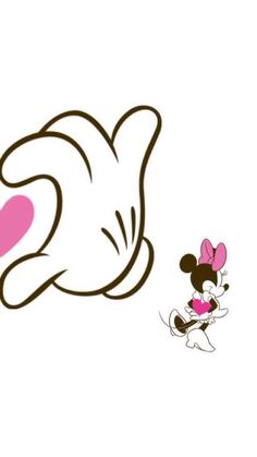 Imagem de wallpaper, disney, and minnie