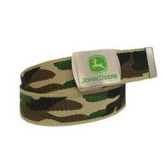 Boys Camouflage Canvas Belt