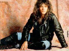 Jon Bon Jovi - I think I had this poster on my wall!