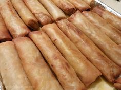 Shrimp and Pork Egg Rolls (Spring Rolls)