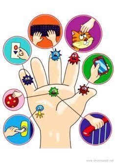 Preschool Learning Activities, Preschool Classroom, Preschool Activities, Hand Washing Poster, Library Logo, Desenho Pop Art, Hand Emoji, Teacher Cartoon, Funny Emoticons