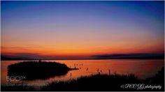 Song of dawn by photoevecolon  sky lake water nature light breaking dawn Nikon D3 Japan Izumo Shimane PEC GG Lake Shinji 大阪カメラ倶楽部 S