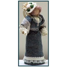 Looking for your next project? You're going to love LouArlene Victorian Lady Art Doll  by designer Linda Walsh.
