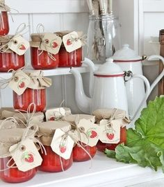 Homemade Strawberry Jam  * Erdbeermarmelade
