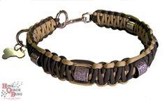 HQB Para Cord Dog Collar, duck and goose bands