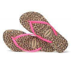 7c23d61880d3 Havaianas Slim Animals Sand Grey Pink flip flops