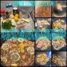 Lemon Garlic Chicken, Lemon Slice, Chicken Seasoning, Allrecipes, Love Food