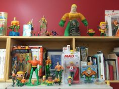 Drew Davies' Aquaman collection!