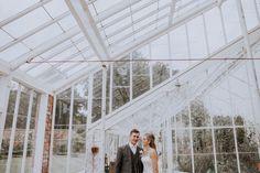 Lauren and Brett's Gold and Cream Handmade Outdoor Wedding in Berkshire by Oxi Photograp...