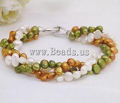 #Freshwater #Pearl #Bracelet http://www.beads.us/product/Freshwater-Pearl-Bracelet_p91514.html?Utm_rid=219754