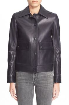 Black Friday Womens Black Soft Genuine Lambskin Leather Motorcycle Jacket- Nr371