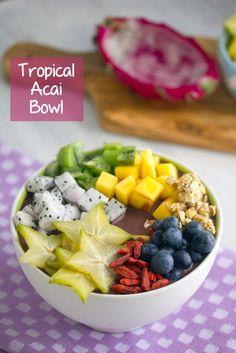 Tropical Acai Bowls