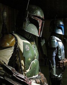Boba and Jango Fett